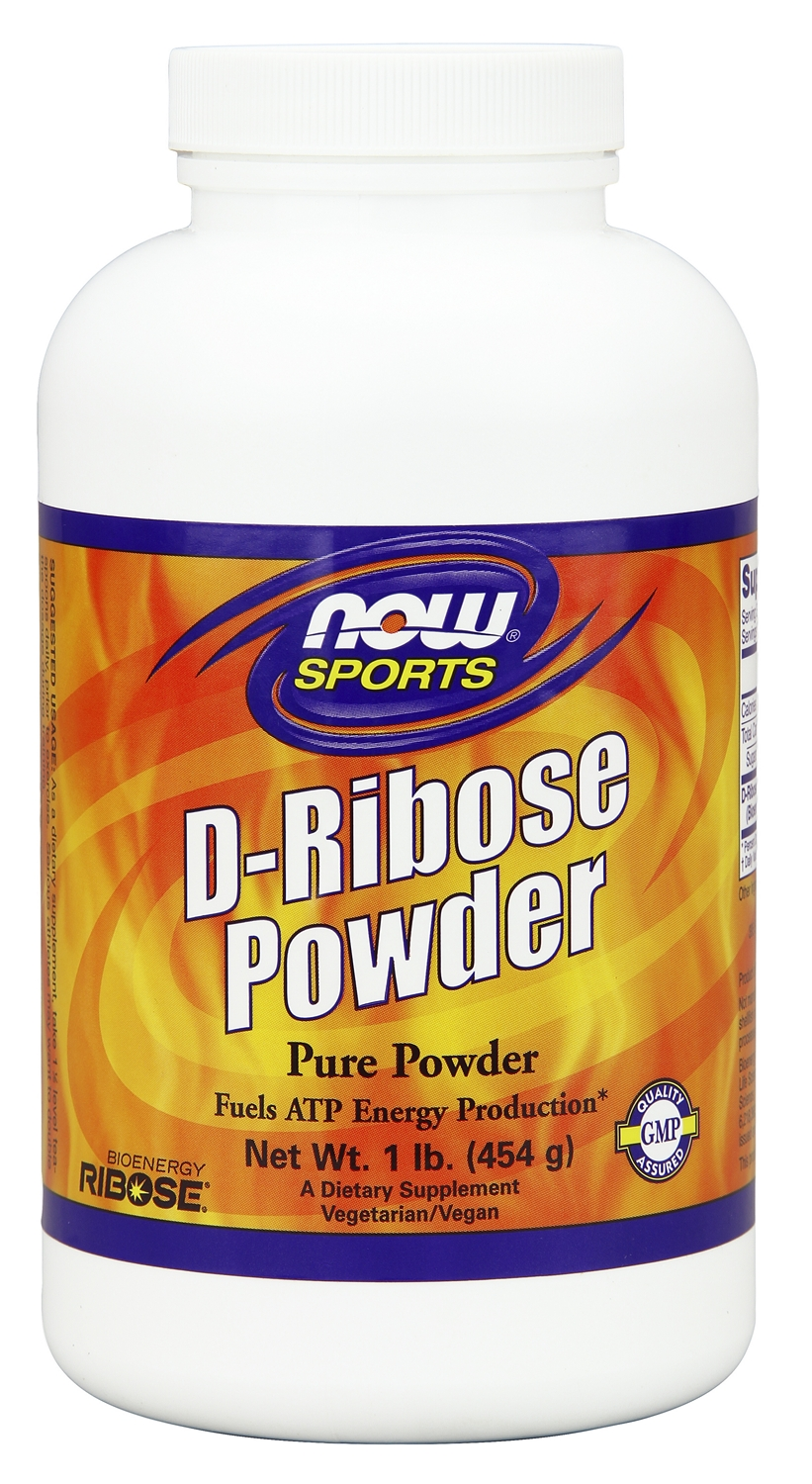 D-Ribose Pure Powder 1 lb (454 g) by NOW