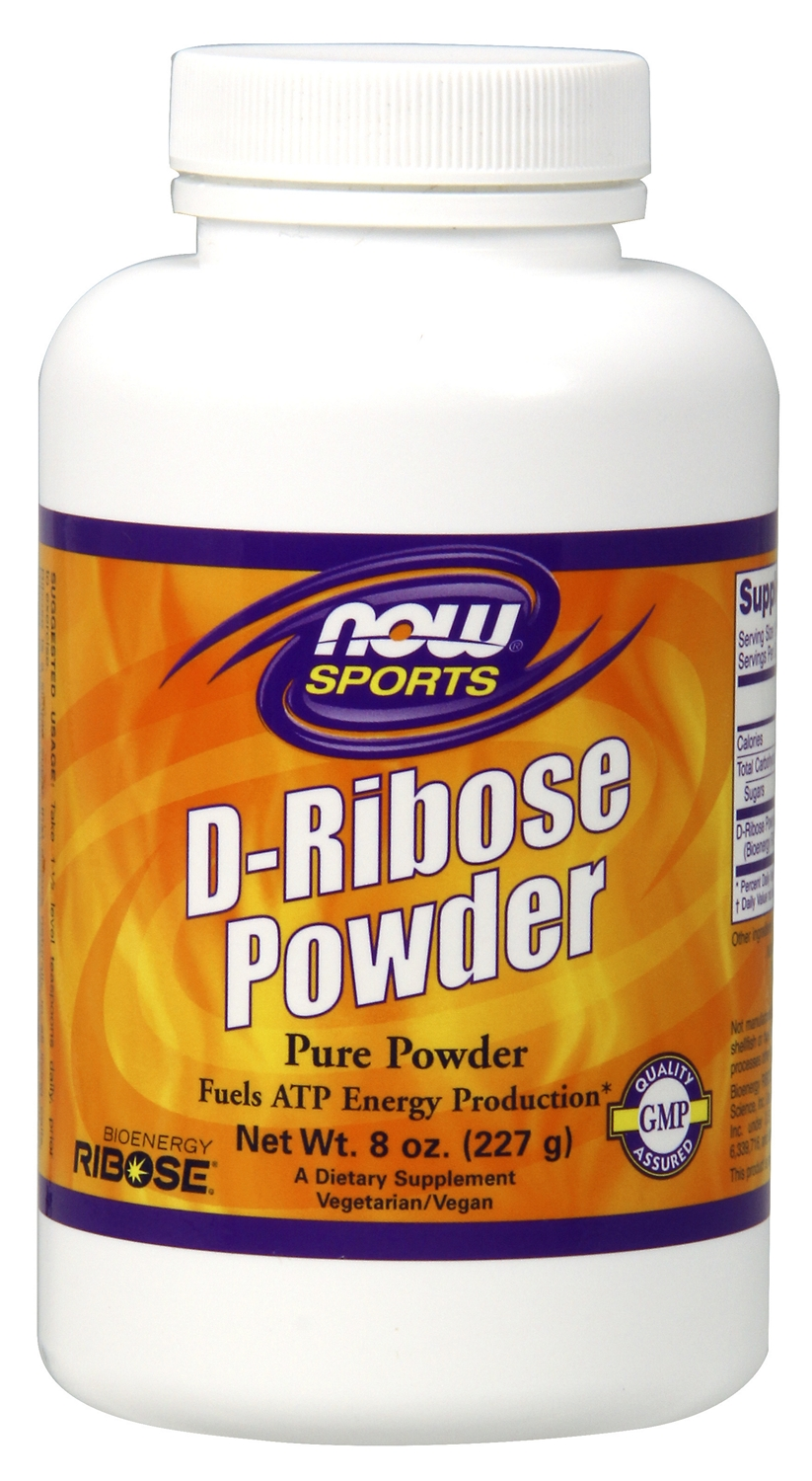 D-Ribose Pure Powder 8 oz (227 g) by NOW