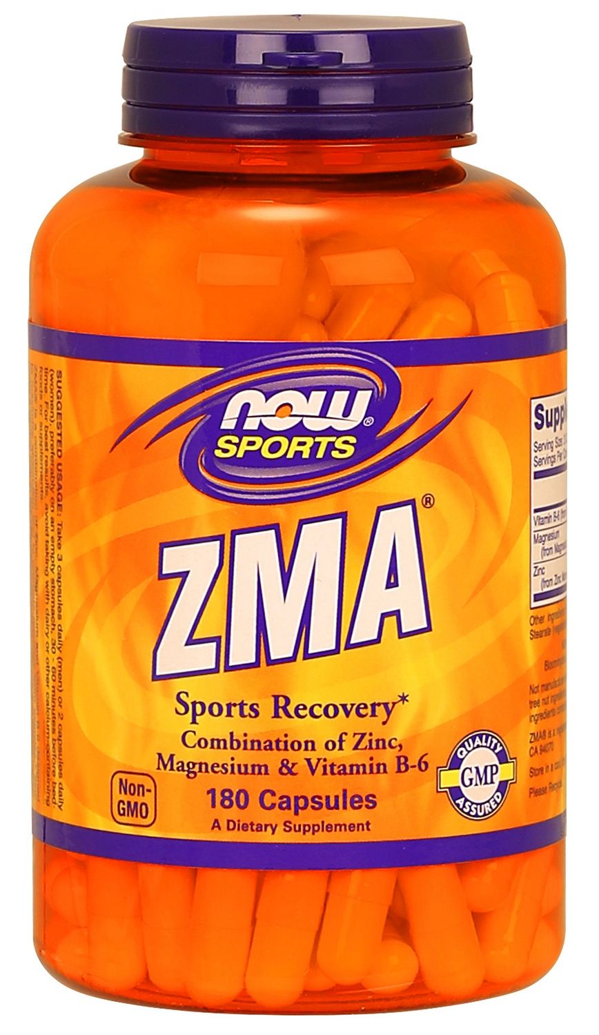 ZMA 180 caps by NOW Foods
