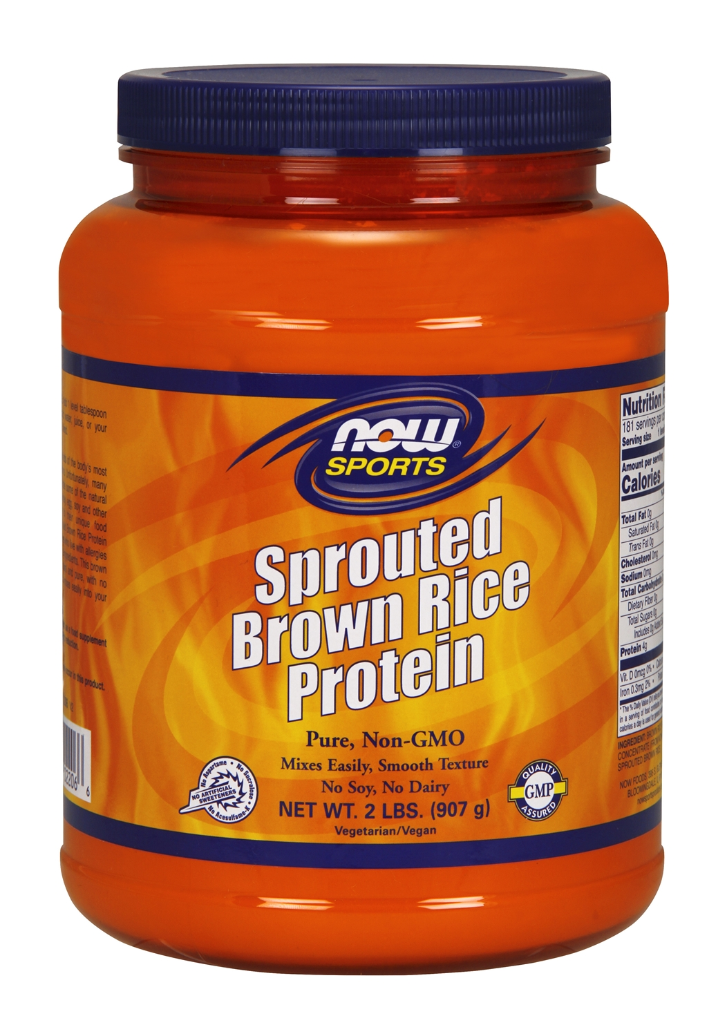 Sprouted Brown Rice Protein 2 lbs by NOW