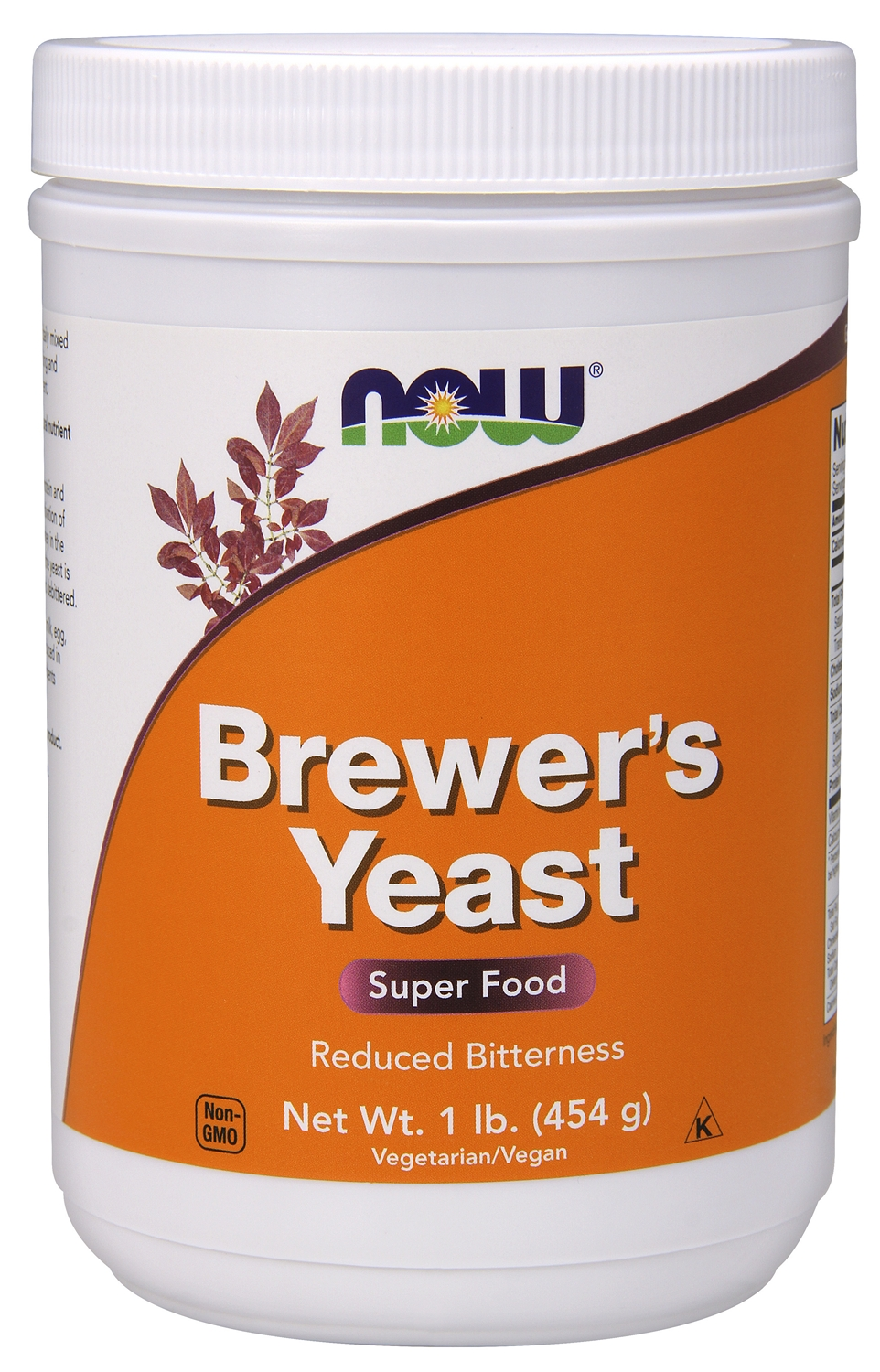 Brewer's Yeast Debittered 1 lb (454 g) by NOW