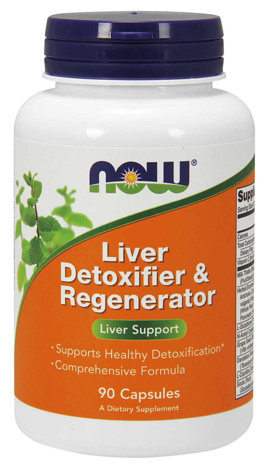Liver Detoxifier & Regenerator 90 caps by NOW