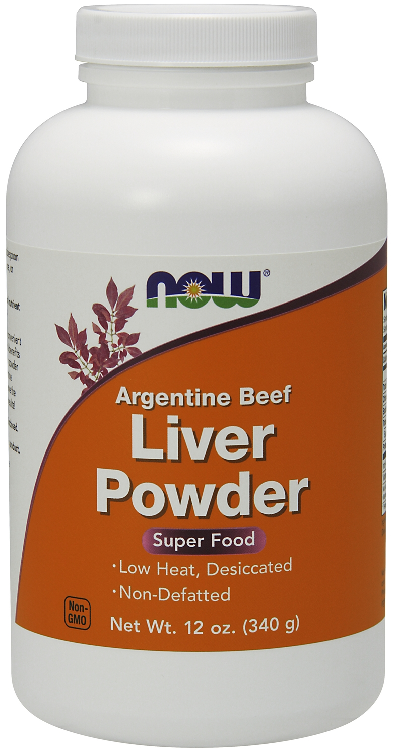 Liver Powder 12 oz (340 g) by NOW
