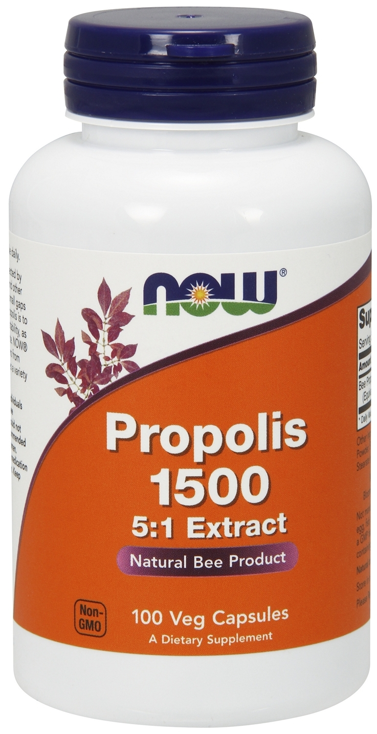 Propolis 500 mg 100 Caps by NOW