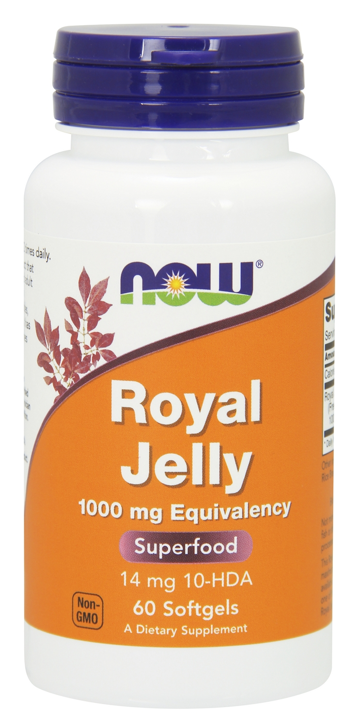 Royal Jelly 1000 mg 60 sgels by NOW