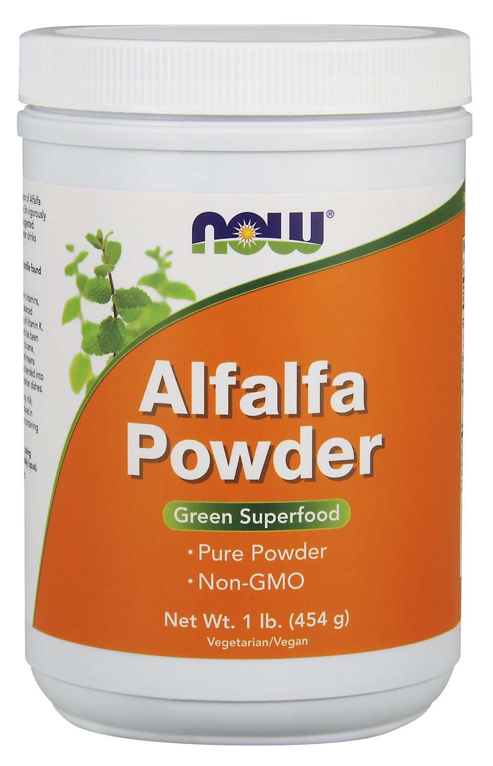Alfalfa Powder 1 lb (454 g) by NOW