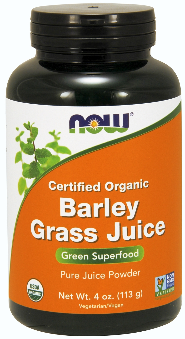 Barley Grass Juice 4 oz. (113 g) by NOW