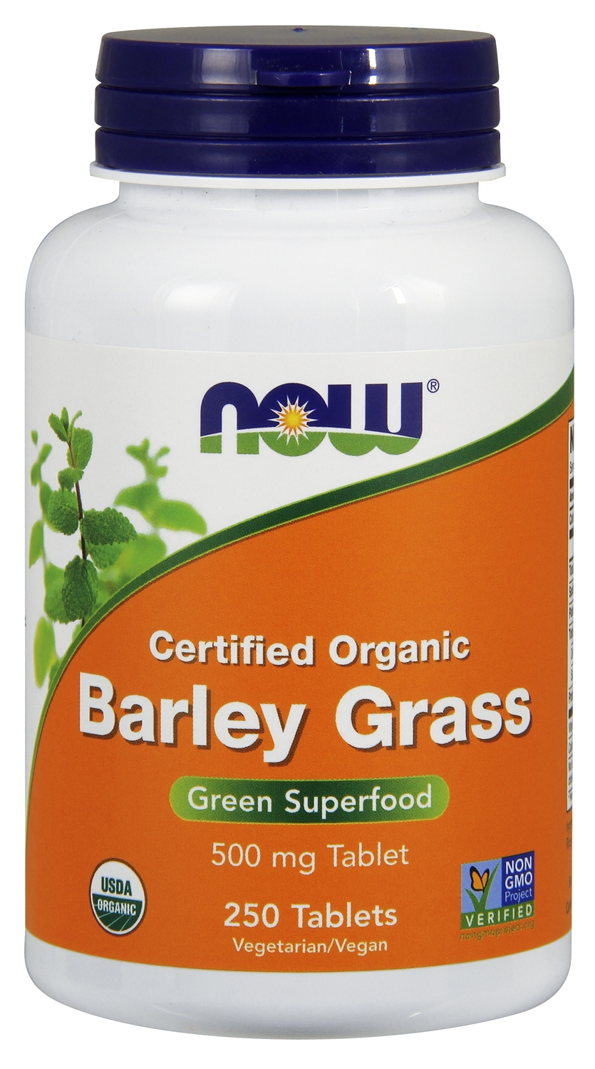 Barley Grass 500 mg 250 tabs by NOW