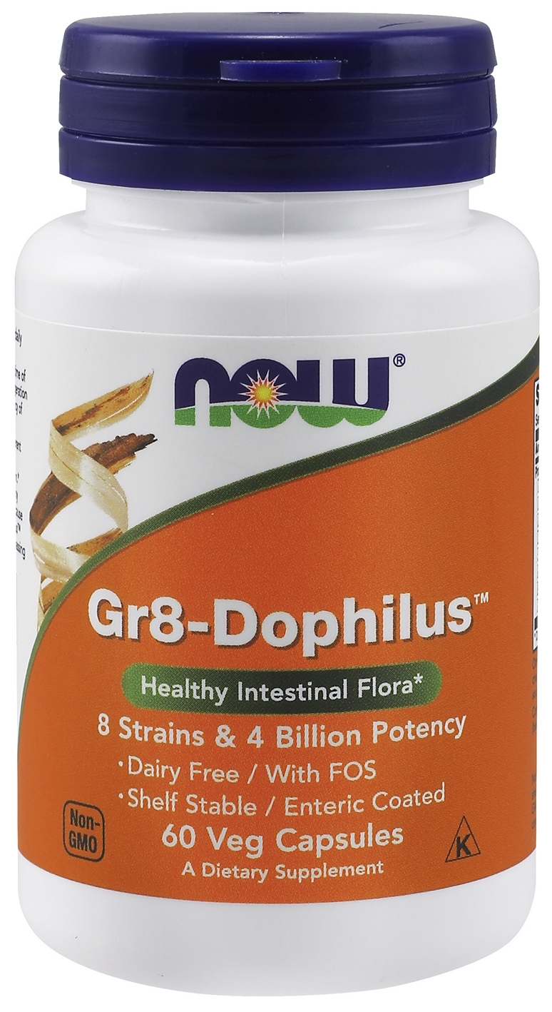 Gr8-Dophilus 60 Vcaps by NOW