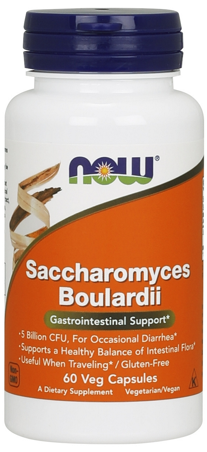 Saccharomyces Boulardii 60 Vcaps by NOW