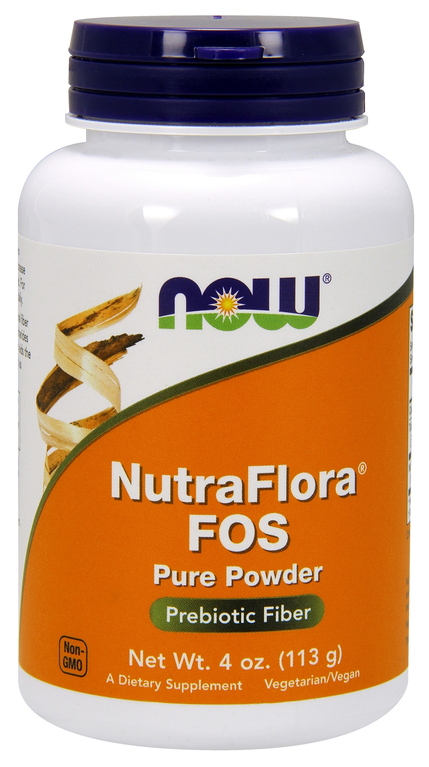 Nutra Flora FOS 4 oz (113 g) by NOW