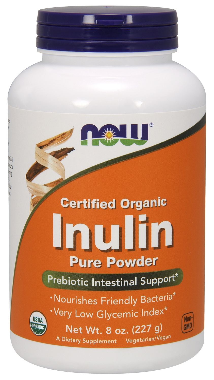 Inulin 8 oz (227 g) by NOW