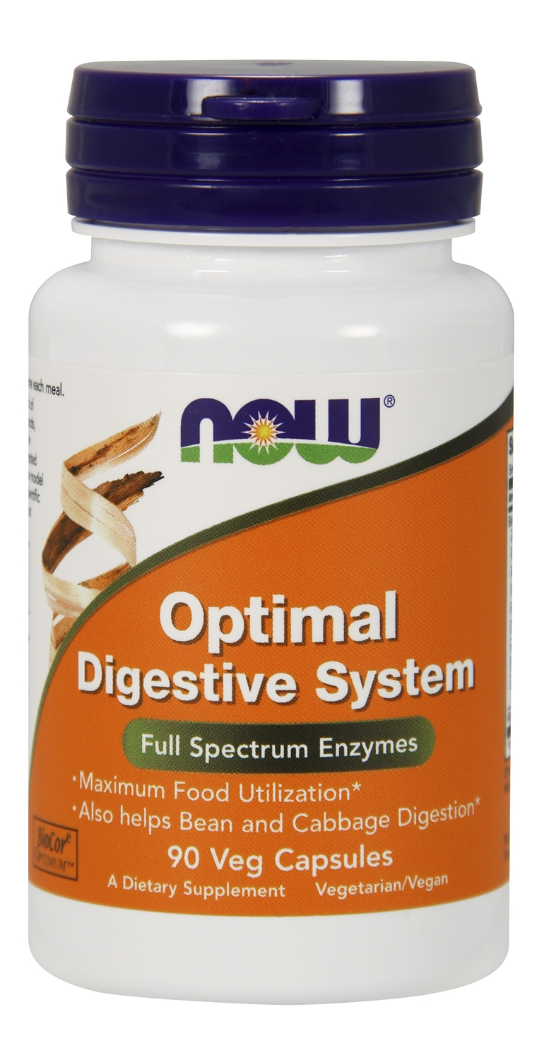 Optimal Digestive System 90 Vcaps by NOW