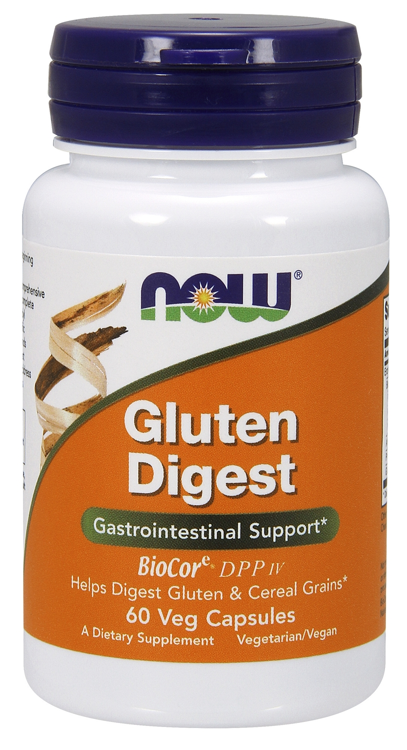 Gluten Digest 60 Vcaps by NOW
