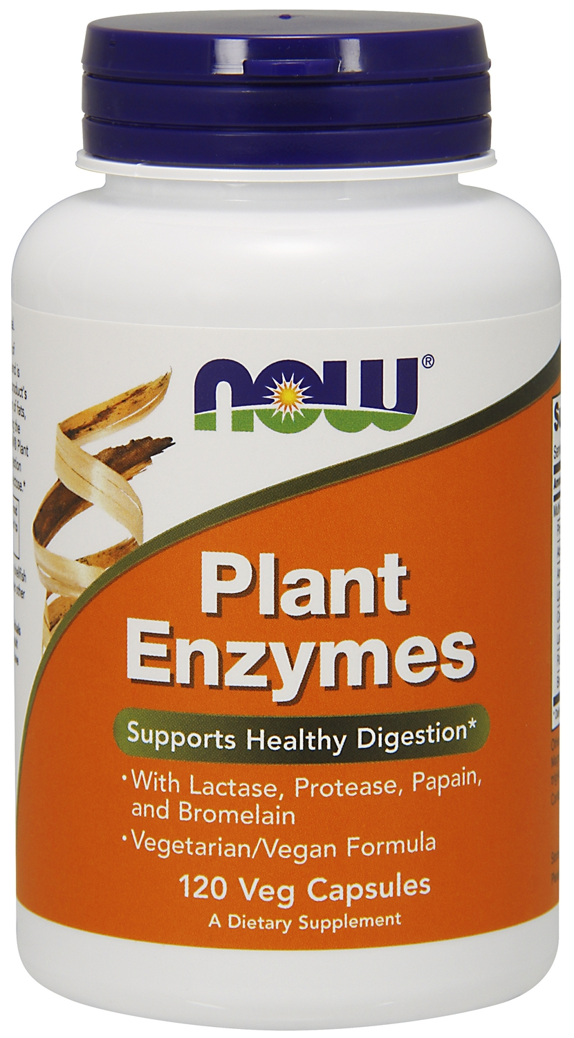 Plant Enzymes 240 Vcaps by NOW