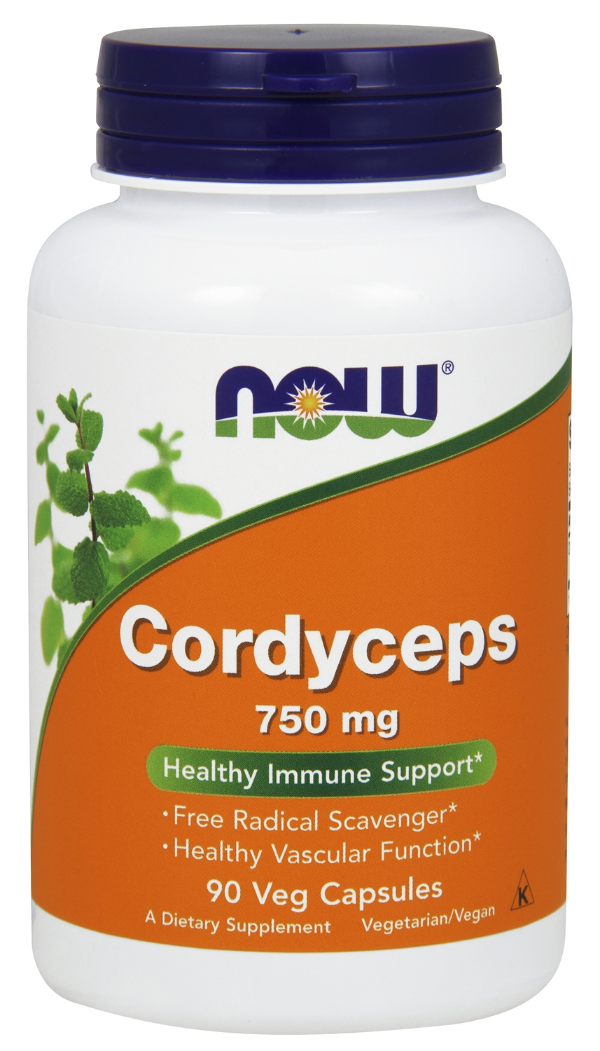 Cordyceps 750 mg 90 Vcaps by NOW