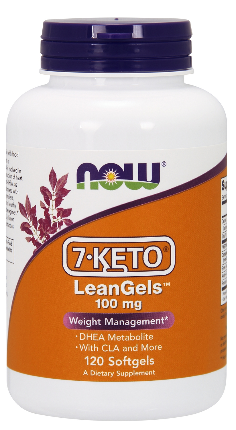 7-Keto LeanGels 120 sgels by NOW