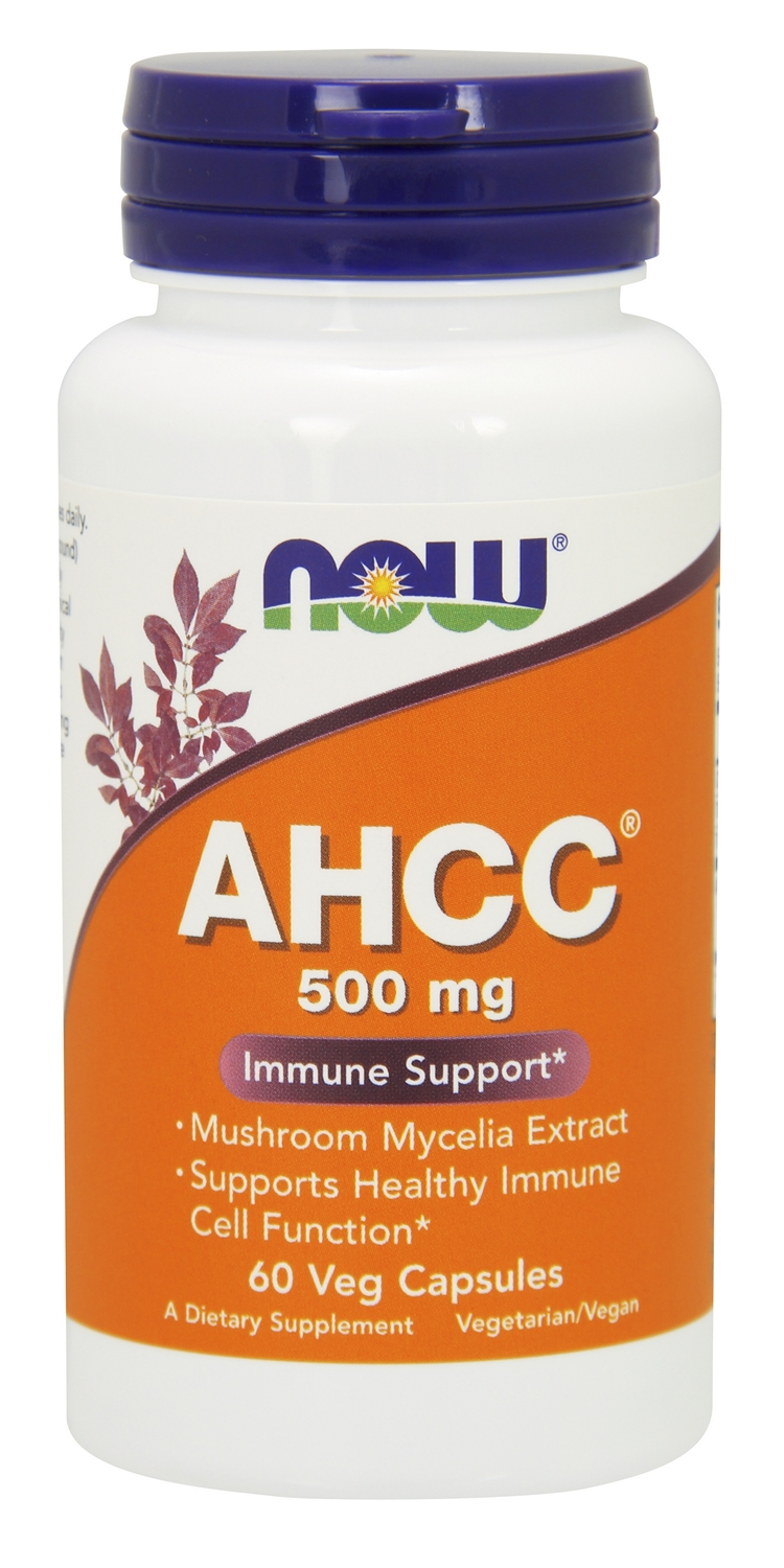 AHCC 500 mg 60 Vcaps by NOW