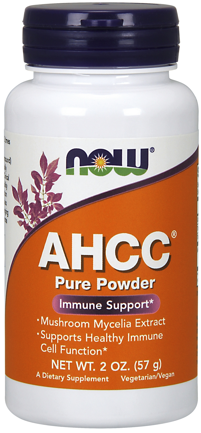 AHCC 100% Pure Powder 2 oz (57 g) by NOW