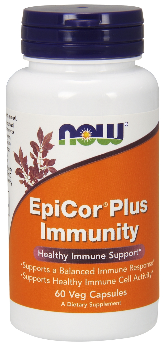 EpiCor Plus Immunity 60 Vcaps by NOW