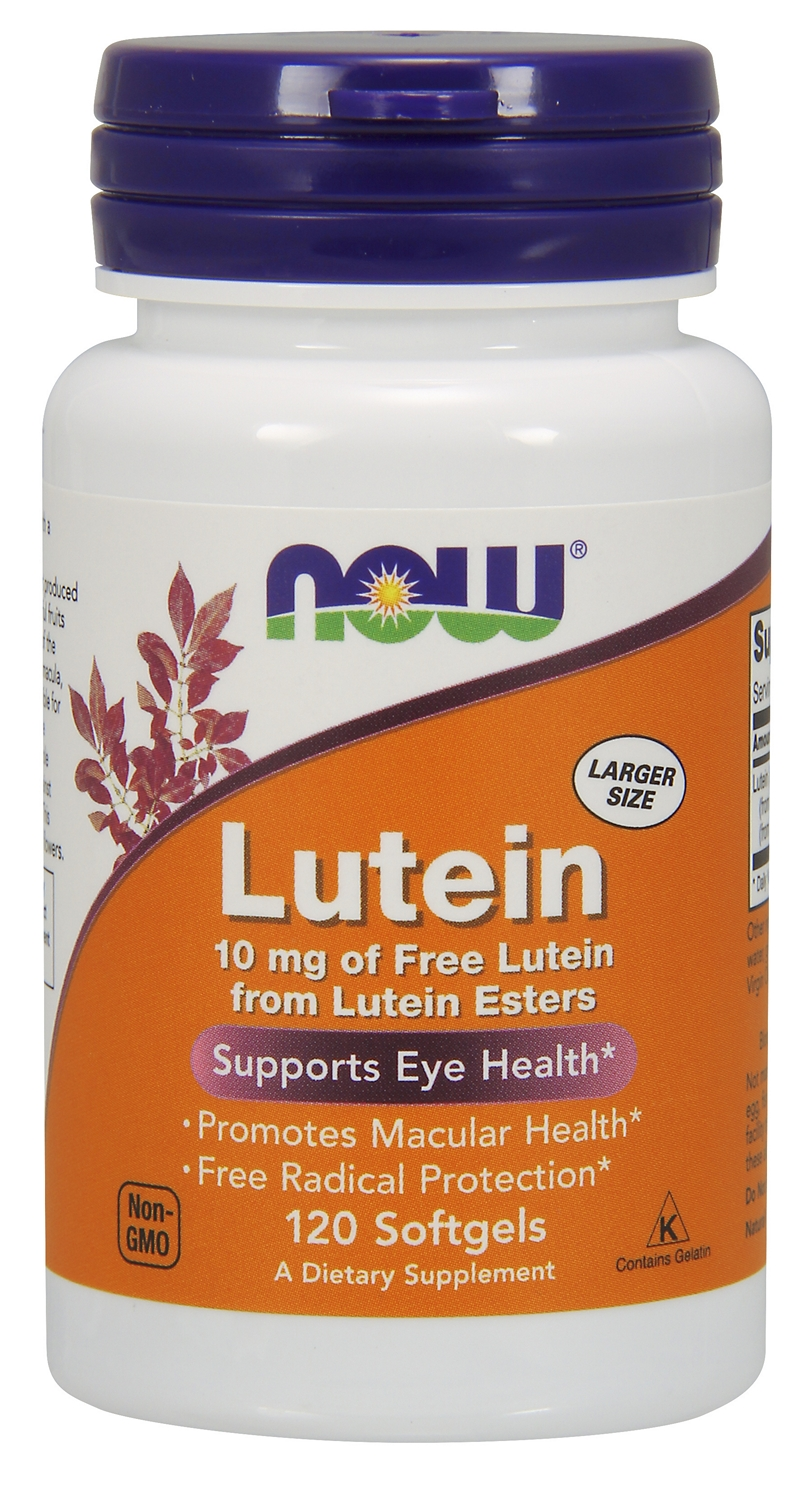 Lutein 120 sgels by NOW