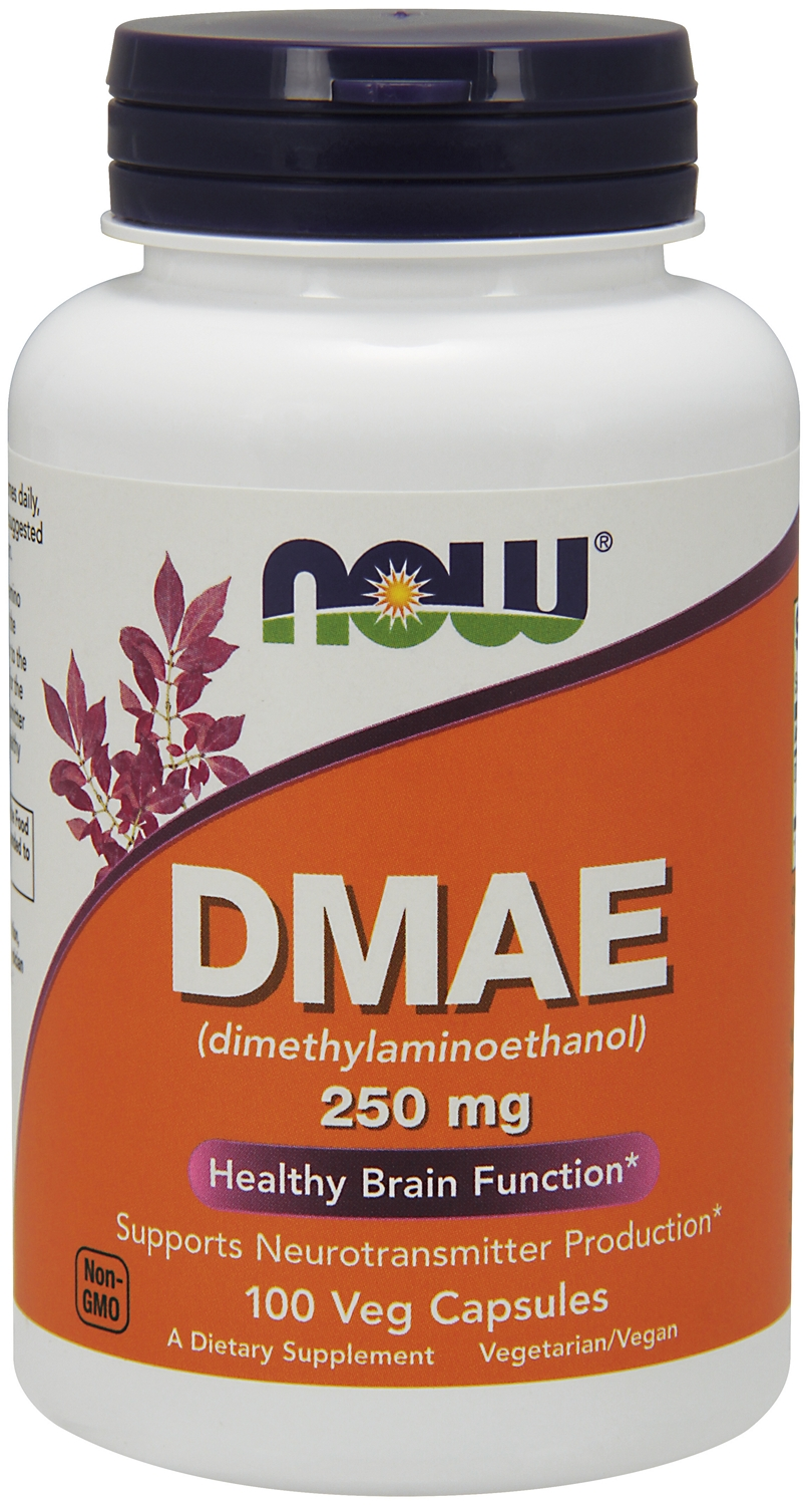 DMAE 250 mg 100 Vcaps by NOW