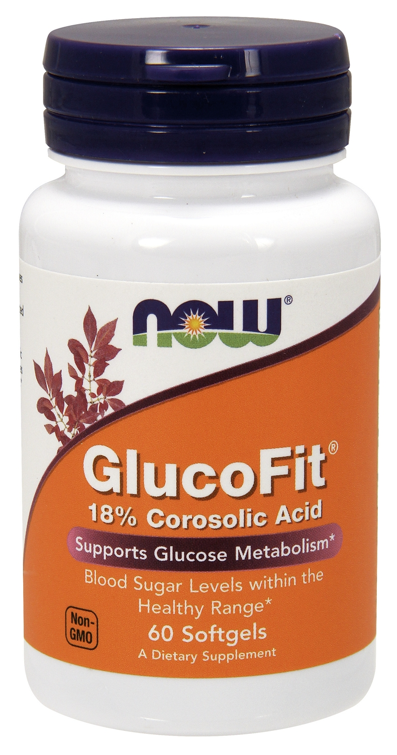 GlucoFit 60 sgels by NOW