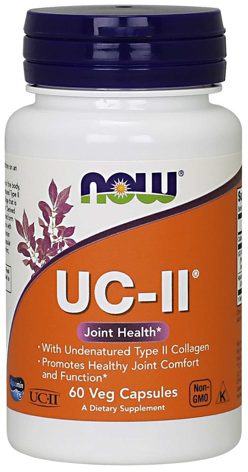 UC-II Undenatured Type II Collagen 60 Vcaps by NOW