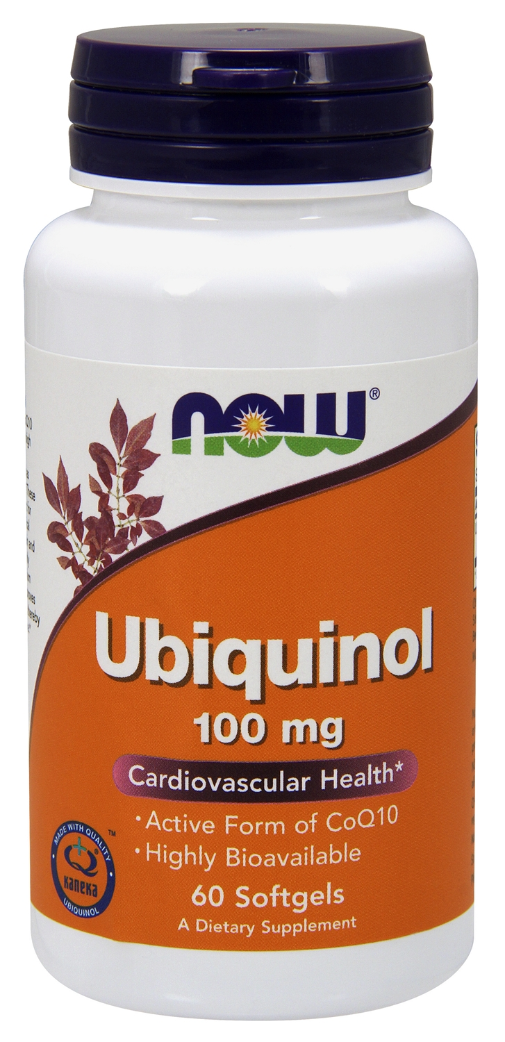 Ubiquinol 100 mg 60 sgels by NOW