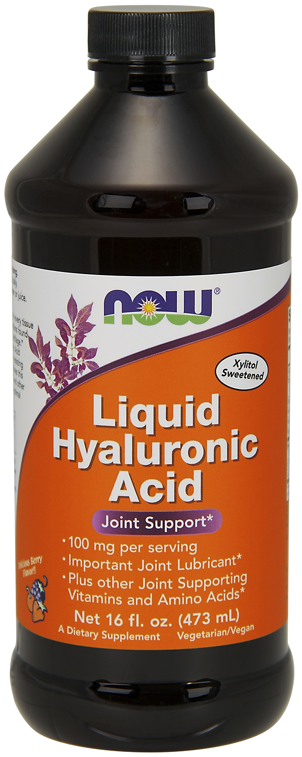 Liquid Hyaluronic Acid 16 fl oz (473 ml) by NOW