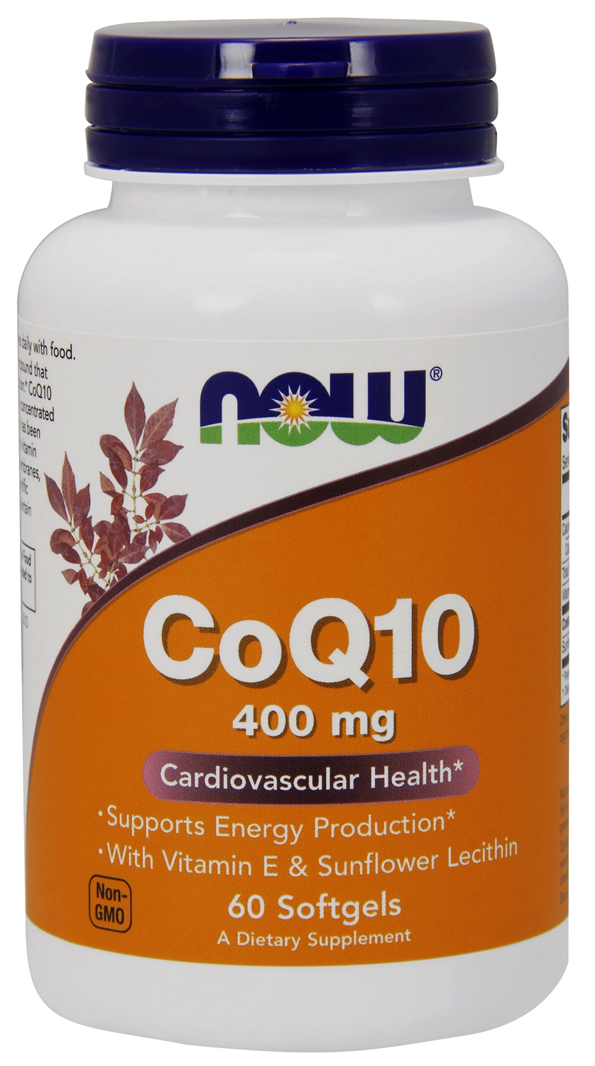 CoQ10 400 mg 60 sgels by NOW