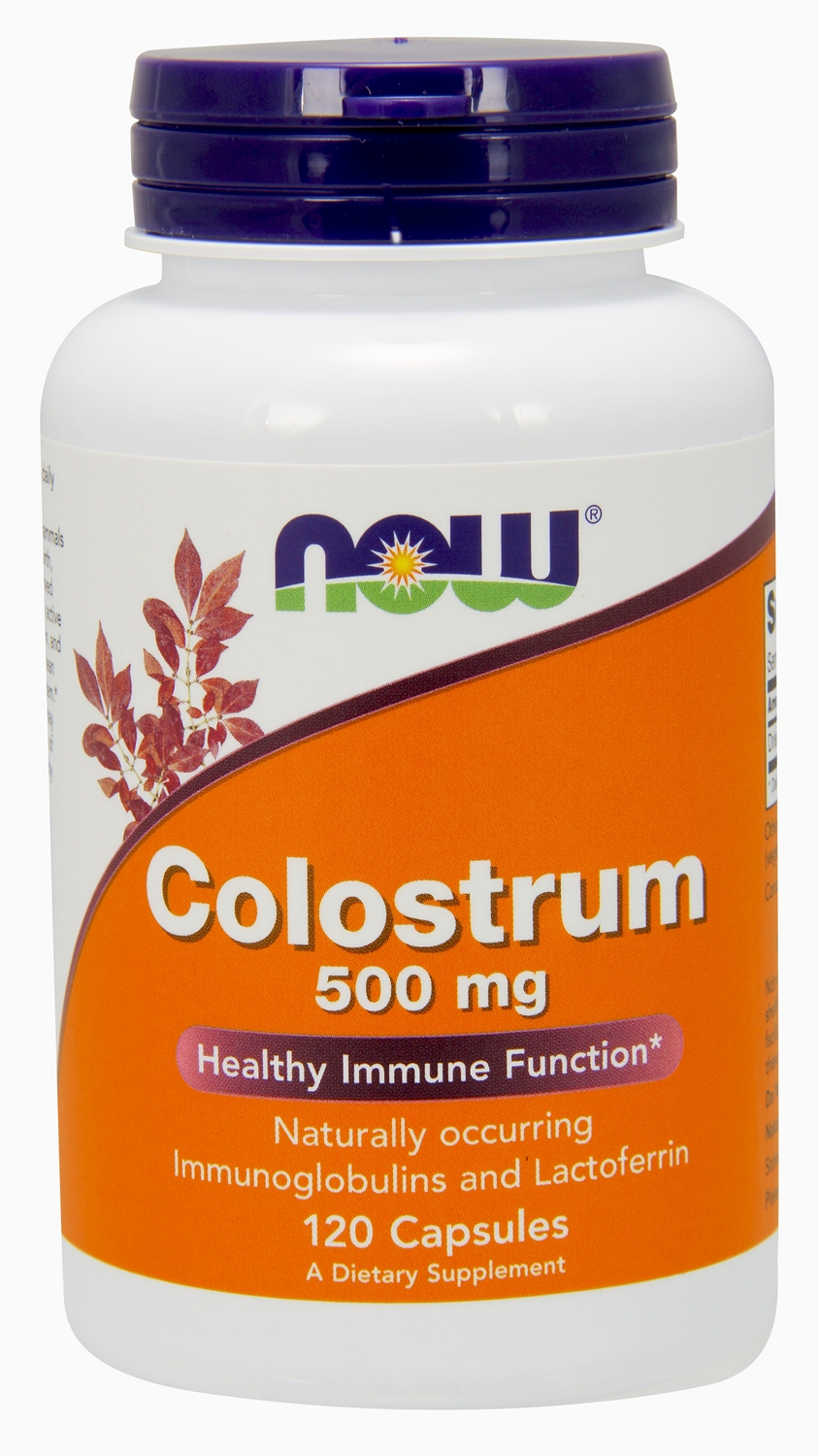 Colostrum 500 mg 120 caps by NOW