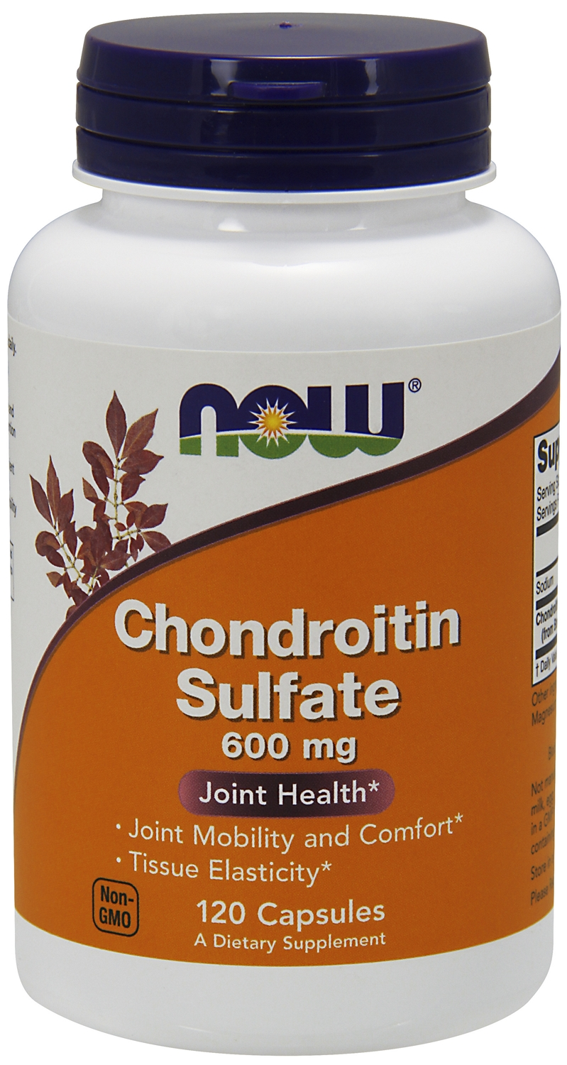 Chondroitin Sulfate 600 mg 120 caps by NOW