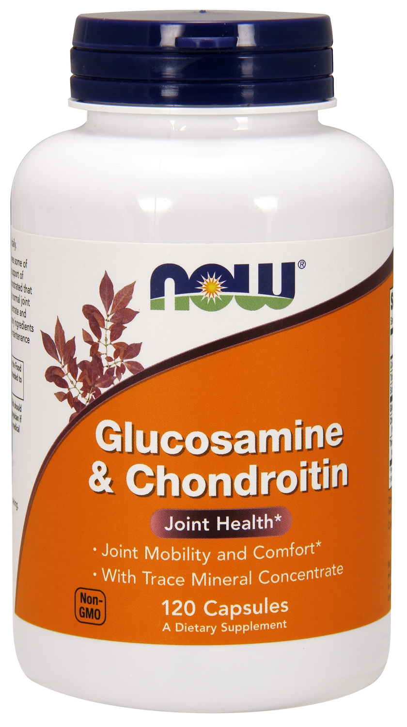 Glucosamine & Chondroitin 240 caps by NOW