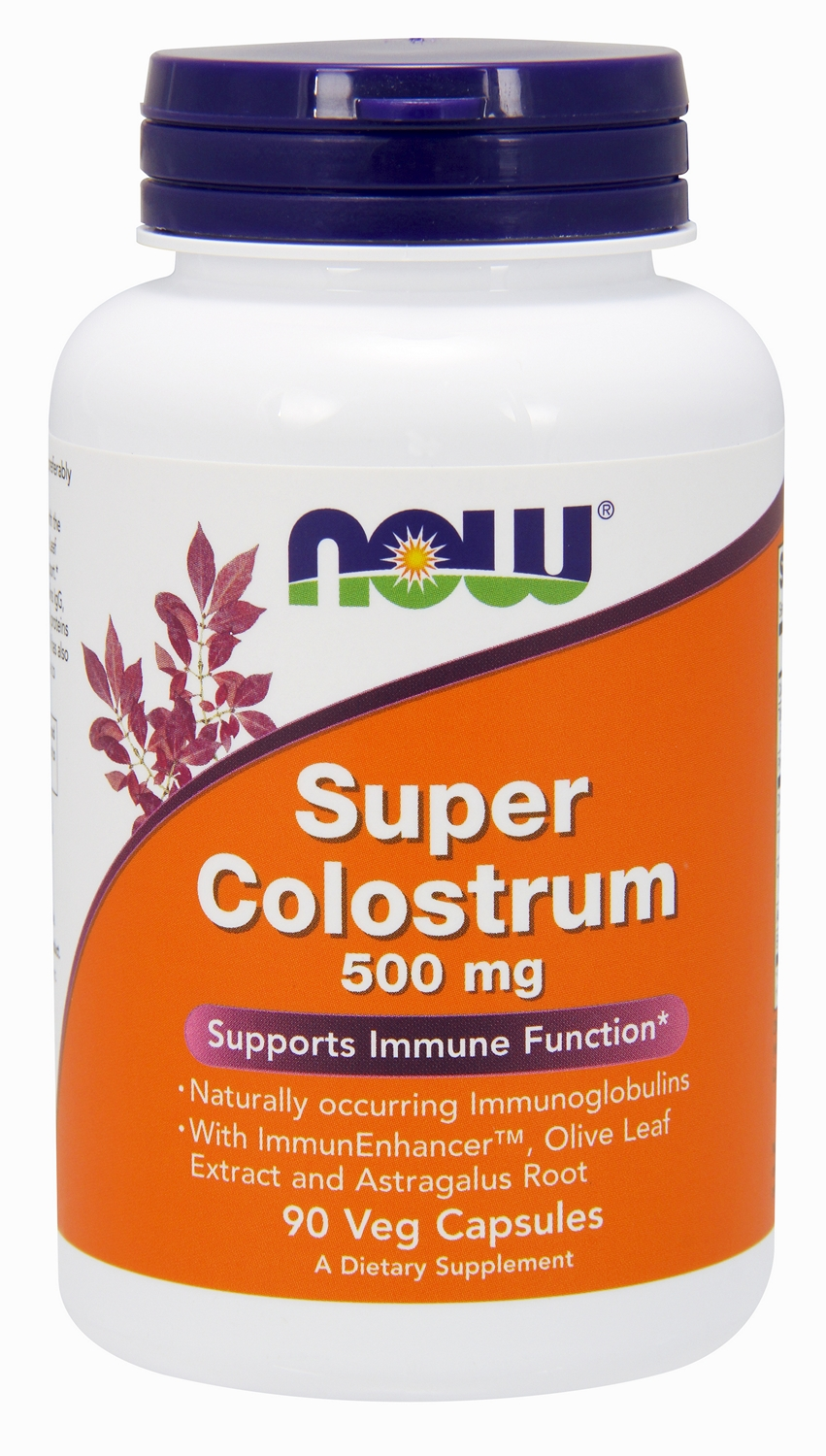 Super Colostrum 500 mg 90 Vcaps by NOW