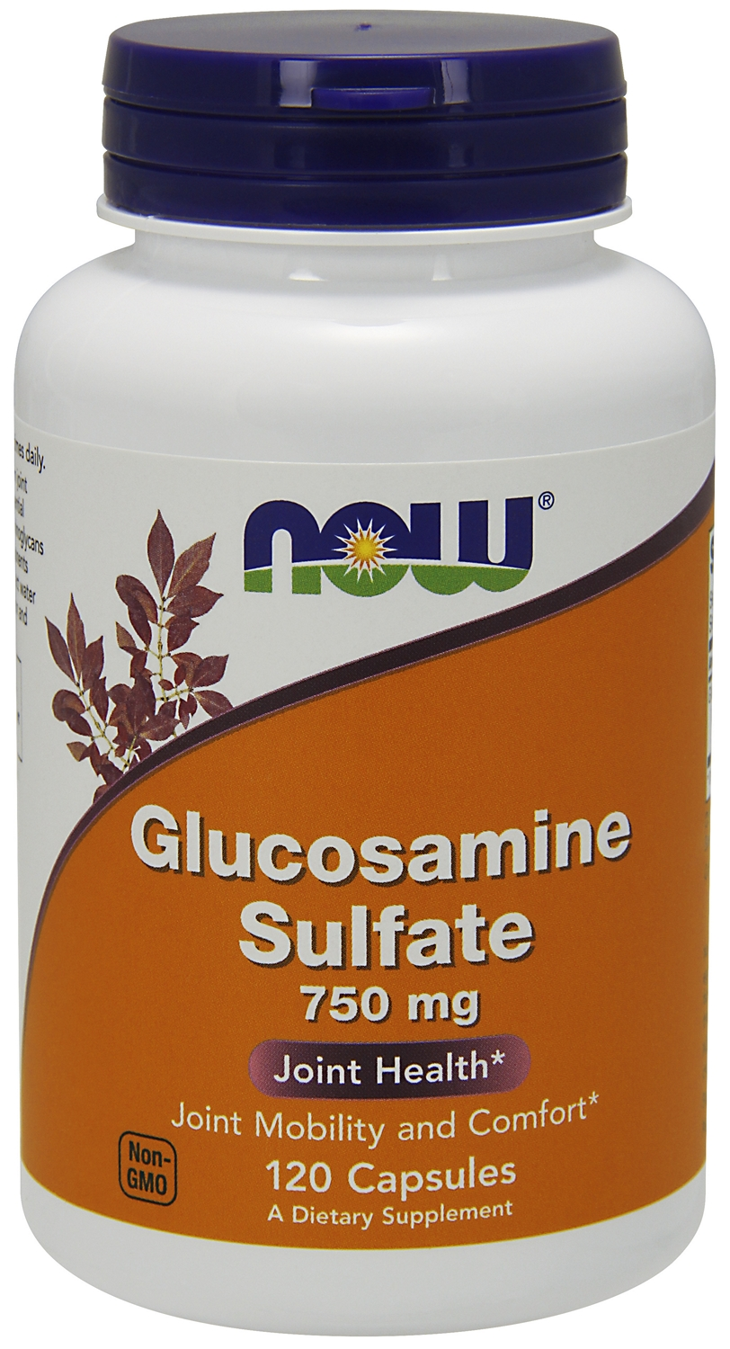 Glucosamine Sulfate 750 mg 240 caps by NOW