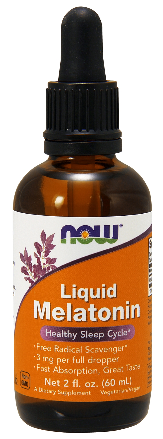 Liquid Melatonin 2 fl oz (60 ml) by NOW