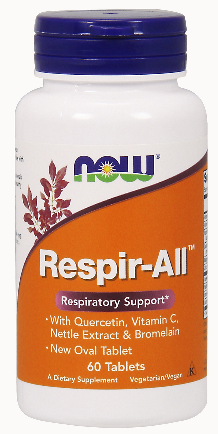 Respir-All 60 tabs by NOW