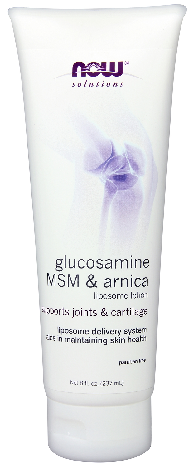 Glucosamine, MSM & Arnica Liposome Lotion 8 fl oz (237 ml) by NOW