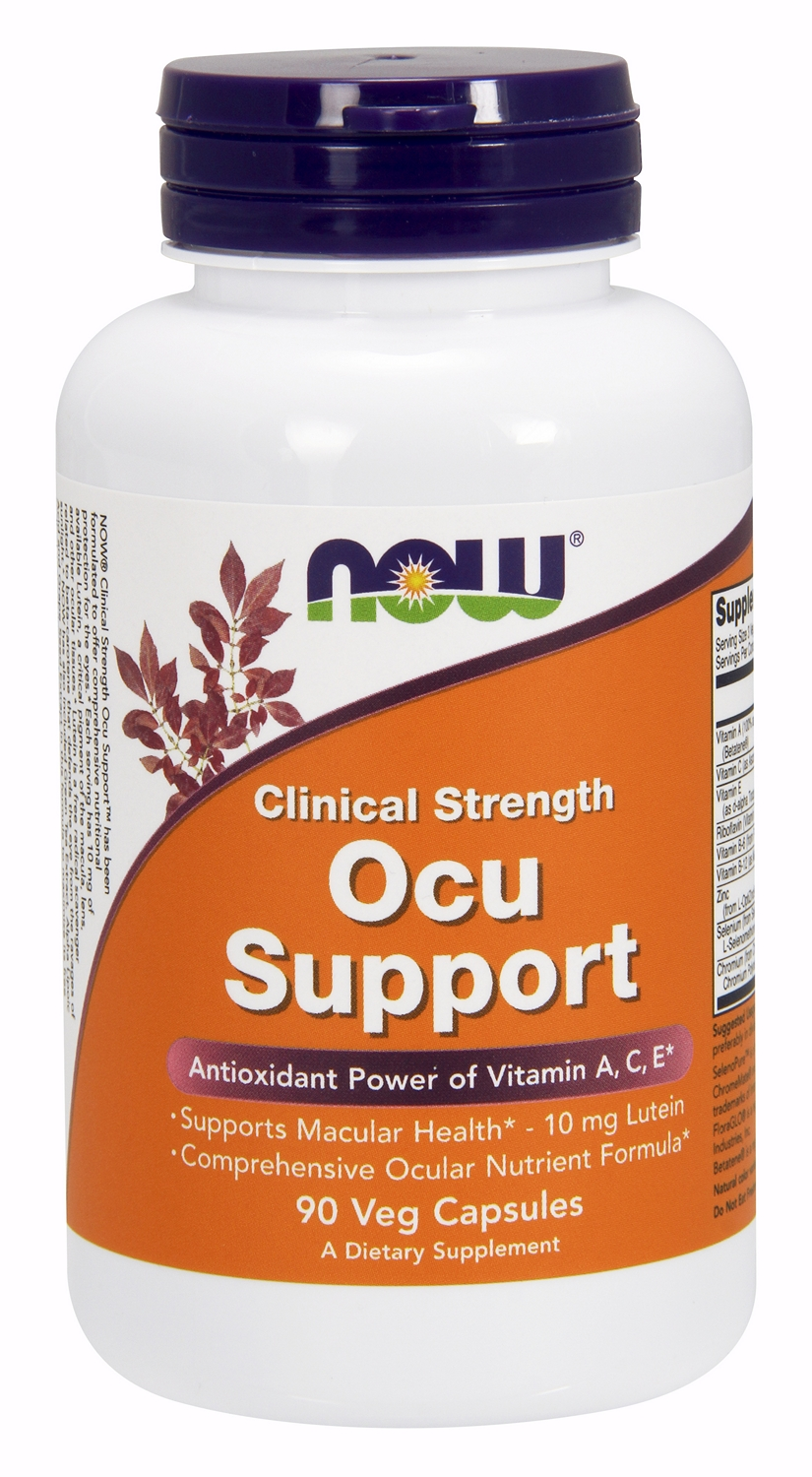 Clinical Strength Ocu Support 90 caps by NOW