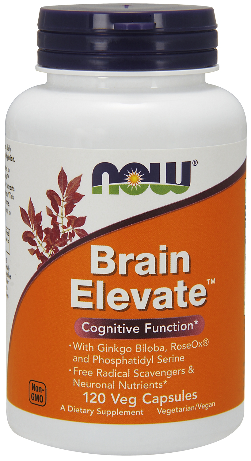 Brain Elevate 120 Vcaps by NOW