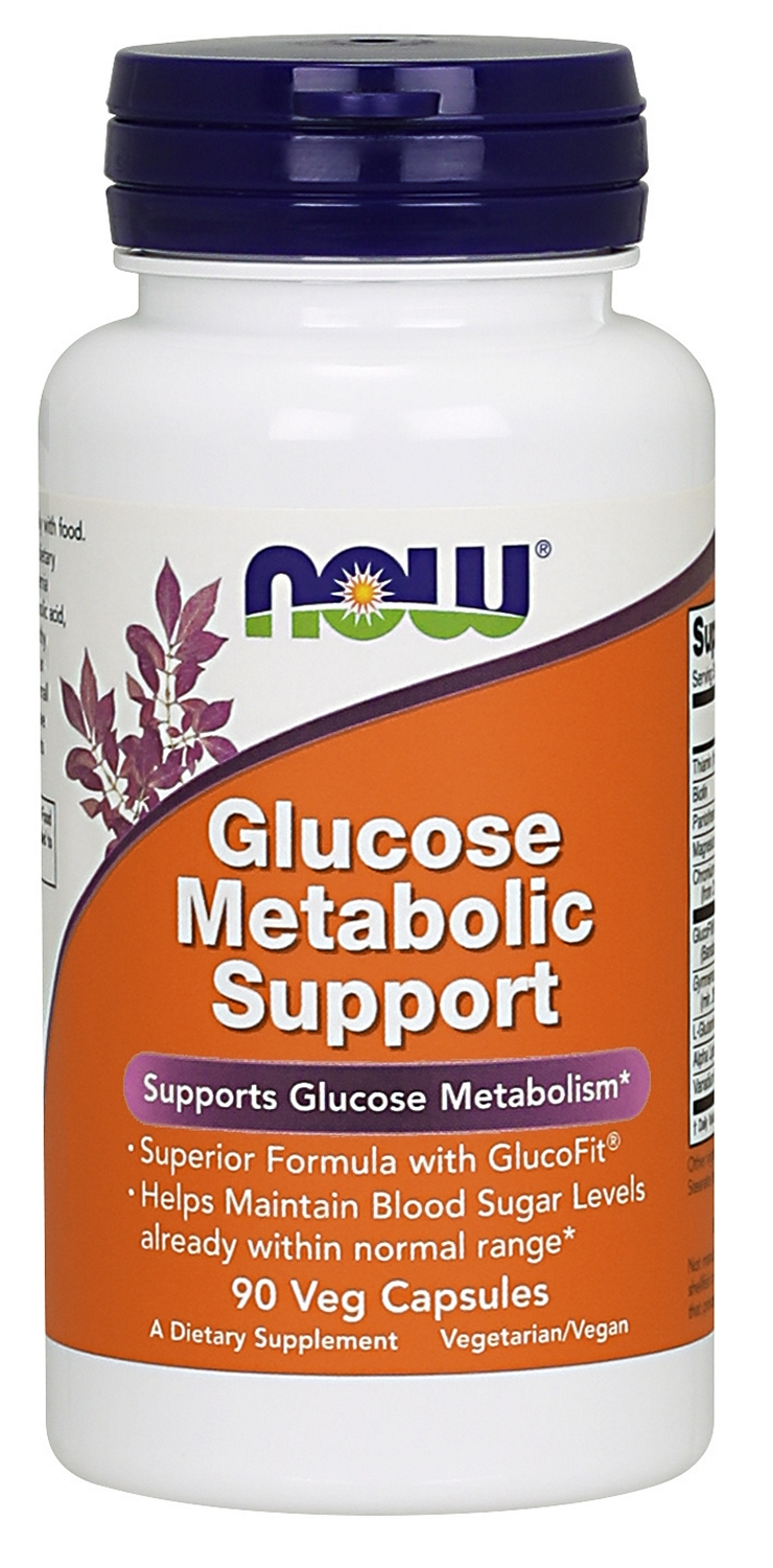 Glucose Metabolic Support 90 caps by NOW