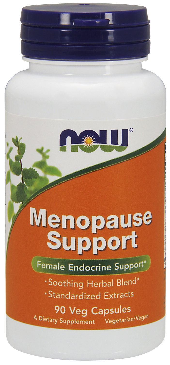 Menopause Support 90 caps by NOW