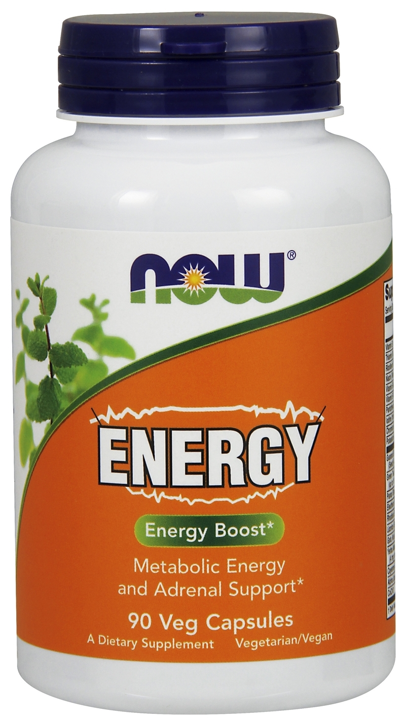 Energy 90 caps by NOW