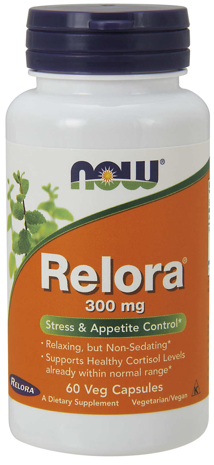 Relora 300 mg 60 Vcaps by NOW