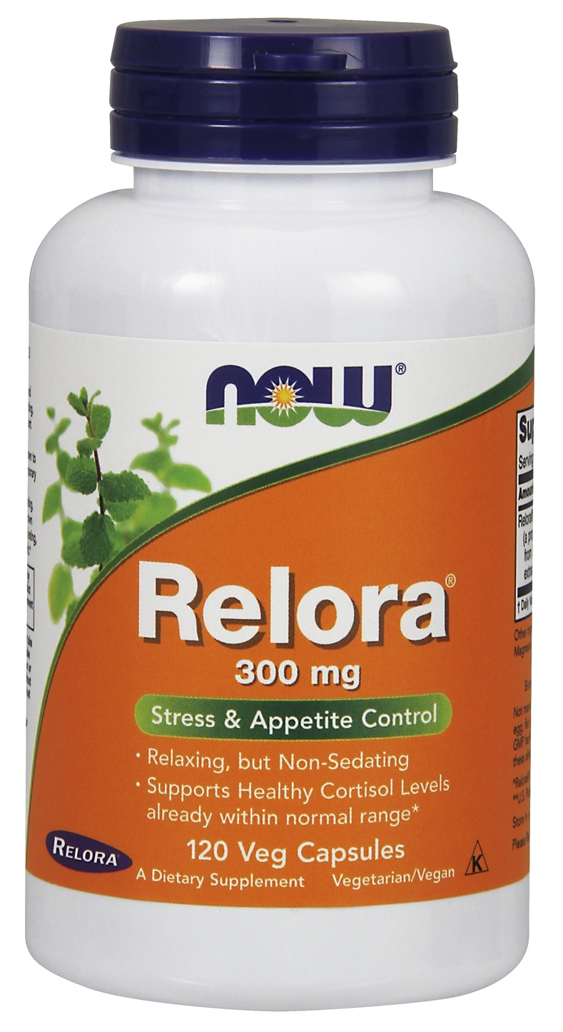 Relora 300 mg 120 Vcaps by NOW