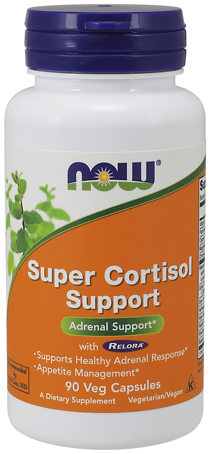 Super Cortisol Support with Relora 90 Vcaps by NOW