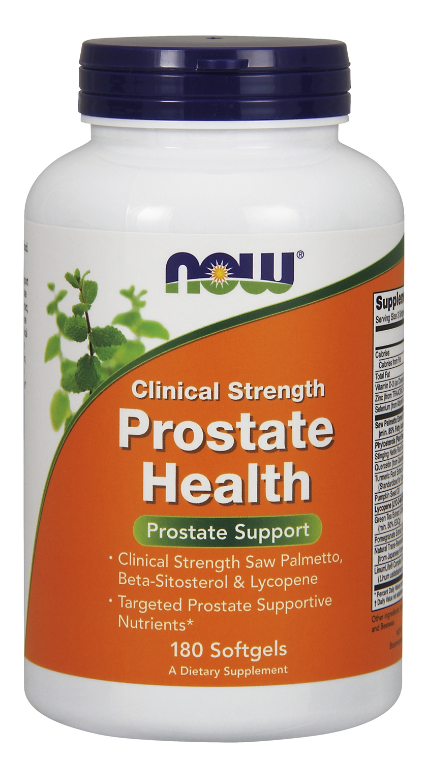 Prostate Health Clinical Strength 180 sgels by NOW