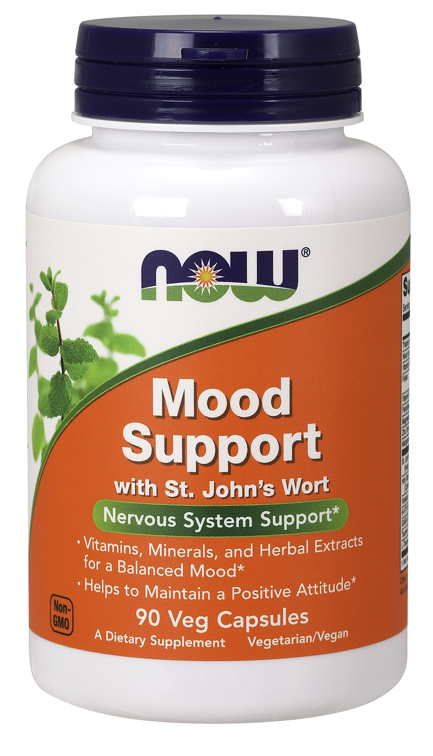 Mood Support with St. John's Wort 90 Vcaps by NOW