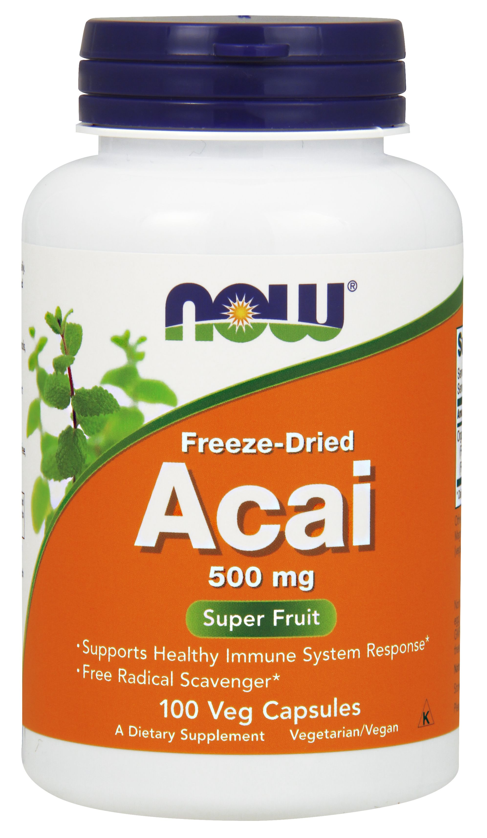 Acai 500 mg 100 Vcaps by NOW